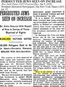 holocausto 6 millones 1938