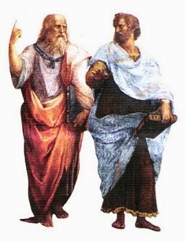 Resultado de imagen para platon y aristoteles